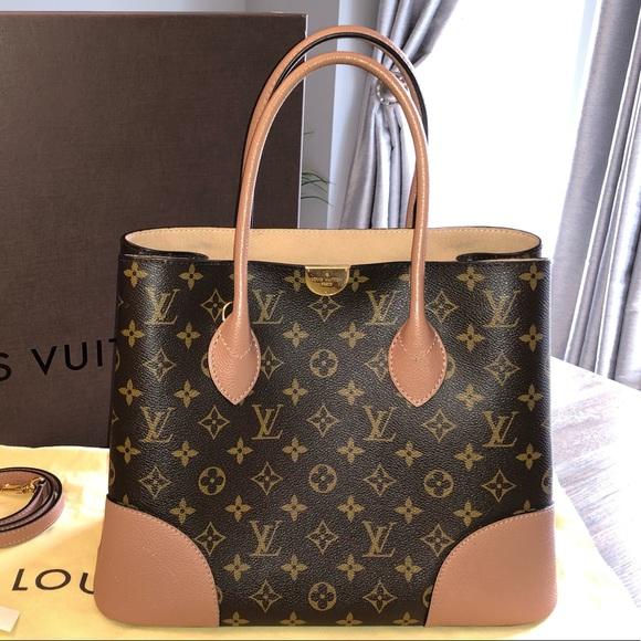 bcb6e83cad02 Louis Vuitton Handbags - LOUIS VUITTON Monogram Flandrin Bag